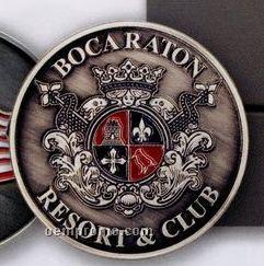 "Club Lorente 2"" Coin W/ Ceramic Magnet"