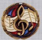 Stock Cem Medal - Music
