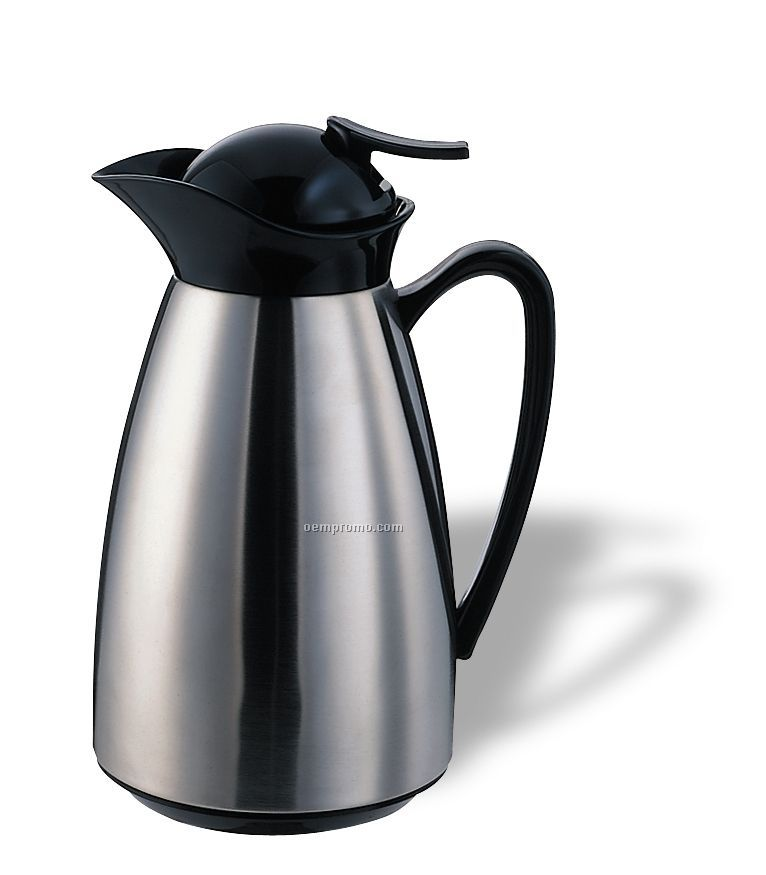 20 Oz. Classy Vacuum Carafe With Push Button Lid (Chrome)