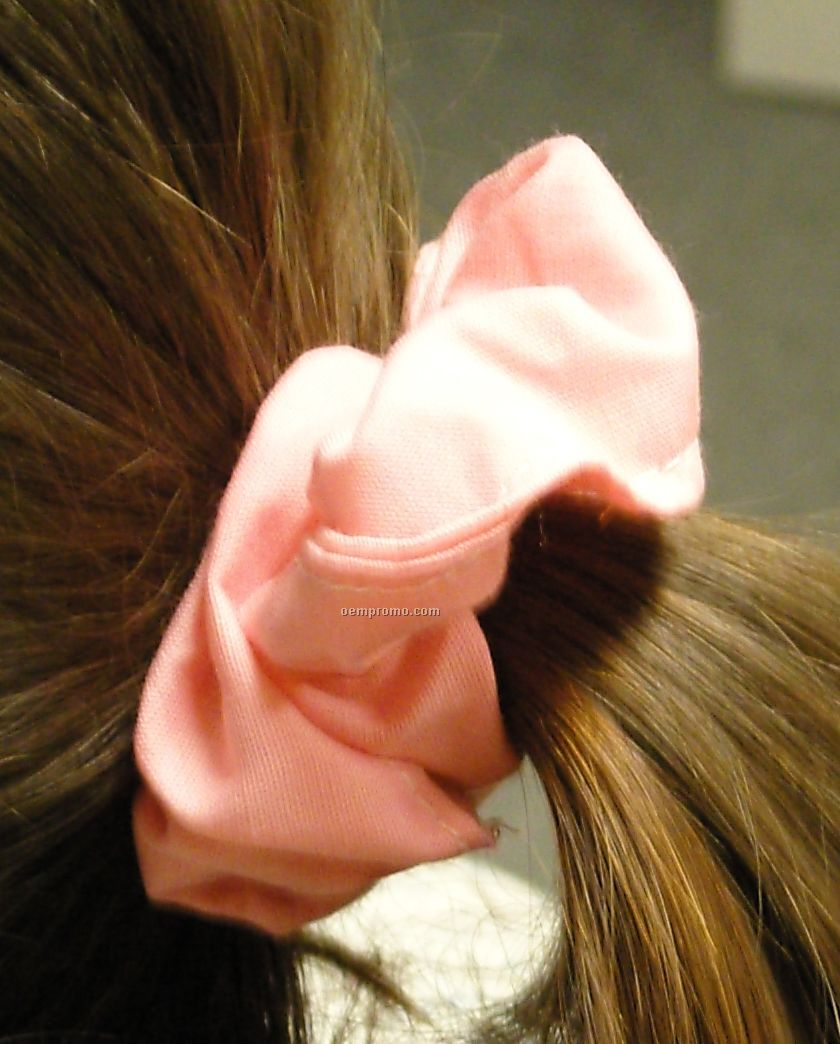 Broadcloth Hair Scrunchie - Blank