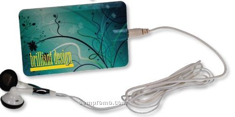 Mp3 Player Card