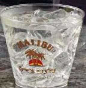 5 Oz. Crystal Clear Squat Cup (Screen Printing)