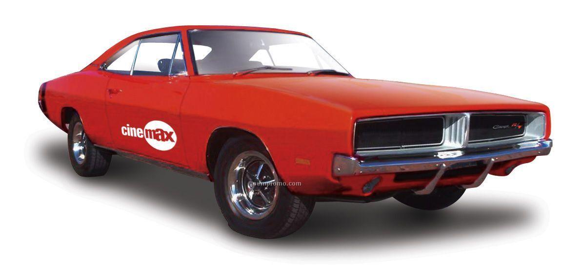 "7""X2-1/2""X3"" 1969 Dodge Charger Die Cast Replica Car"