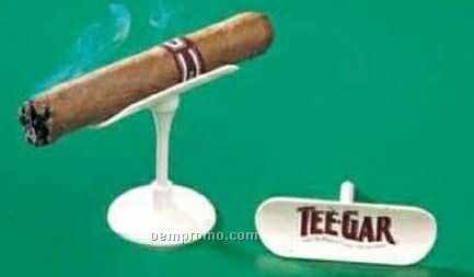 Cigar Holder With Tee