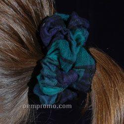 Flannel Hair Scrunchie - Blank