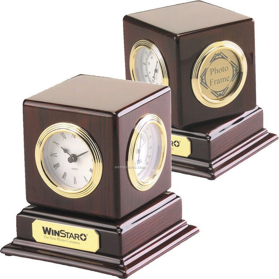 Revolving Multi-function Desk Clock