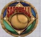 Stock Cem Medal - Softball
