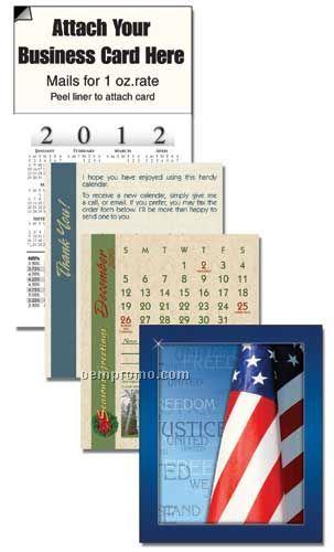 2011 Flag Cover 13 Month Realtor Calendar