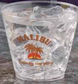 5 Oz. Crystal Clear Squat Cup (High Speed Offset Printing)