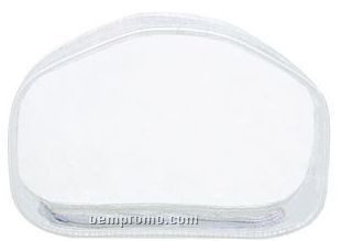 """7""""X2""""X4-1/2"""" Clear Carry All Pouch"""