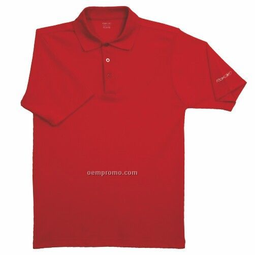Reebok Play Dry Solid Polo Shirt - Red Only