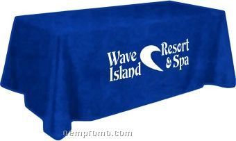Rectangle Polyester Woven Table Cloth (4' Table)