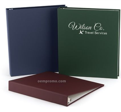 "Soft Touch Binder (1"" Capacity)"