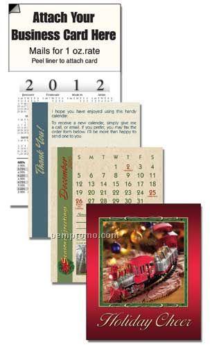 2011 Christmas Train Cover 13 Month Realtor Calendar