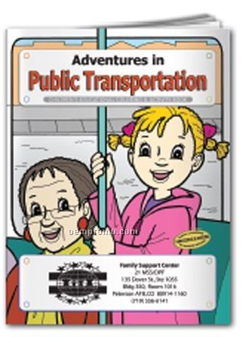 Coloring Book -adventures In Public Transportation