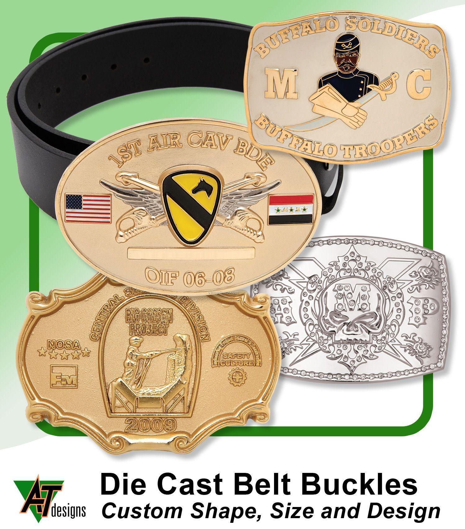 Die Cast Belt Buckles