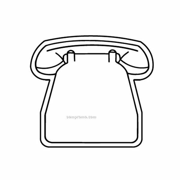 Stock Shape Large Phone Recycled Magnet