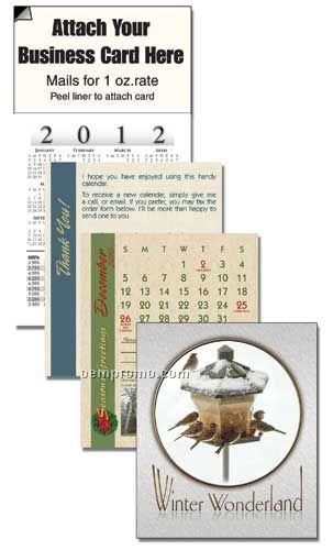 2011 Winter Wonderland Cover 13 Month Realtor Calendar