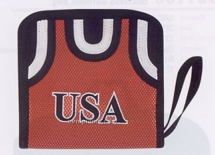 24 Piece CD/ DVD Holder (Basketball Jersey)