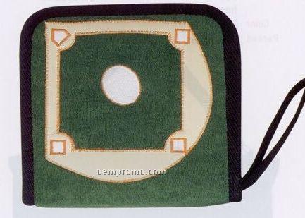 24 Piece CD/ DVD Holder (Baseball Field)