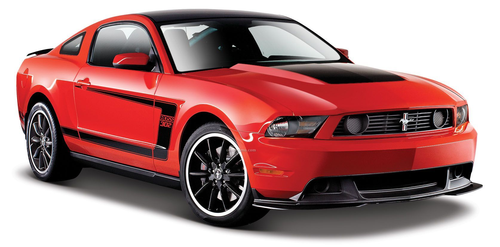 "7""X2-1/2""X3"" Ford Mustang Boss 302 Die Cast Replica Sports Car"
