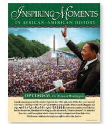 Inspiring Moments In African-american History Poster Set