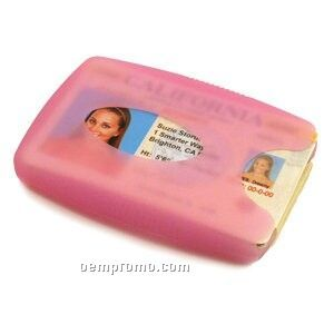 Jelly Wallet - Pink