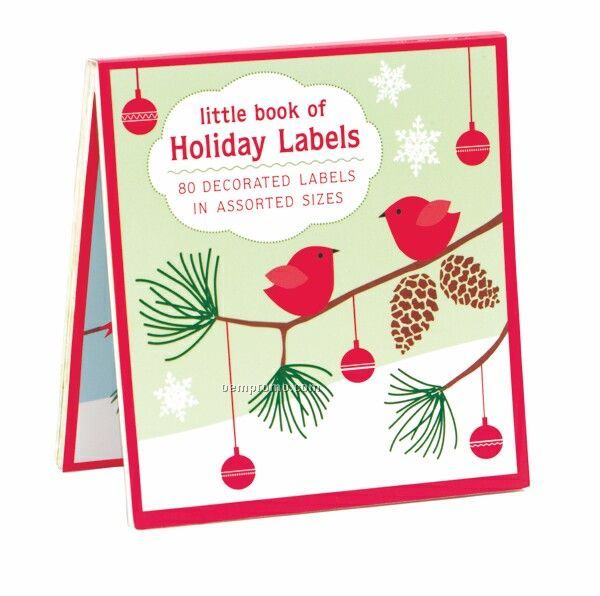 Little Red Birds Little Book Of Labels