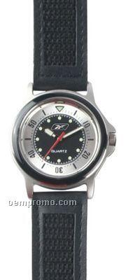 Pedre Varsity Sport Watch W/ Black Dial & Strap
