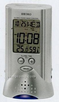 Seiko R Wave Multi Time Clock Radio
