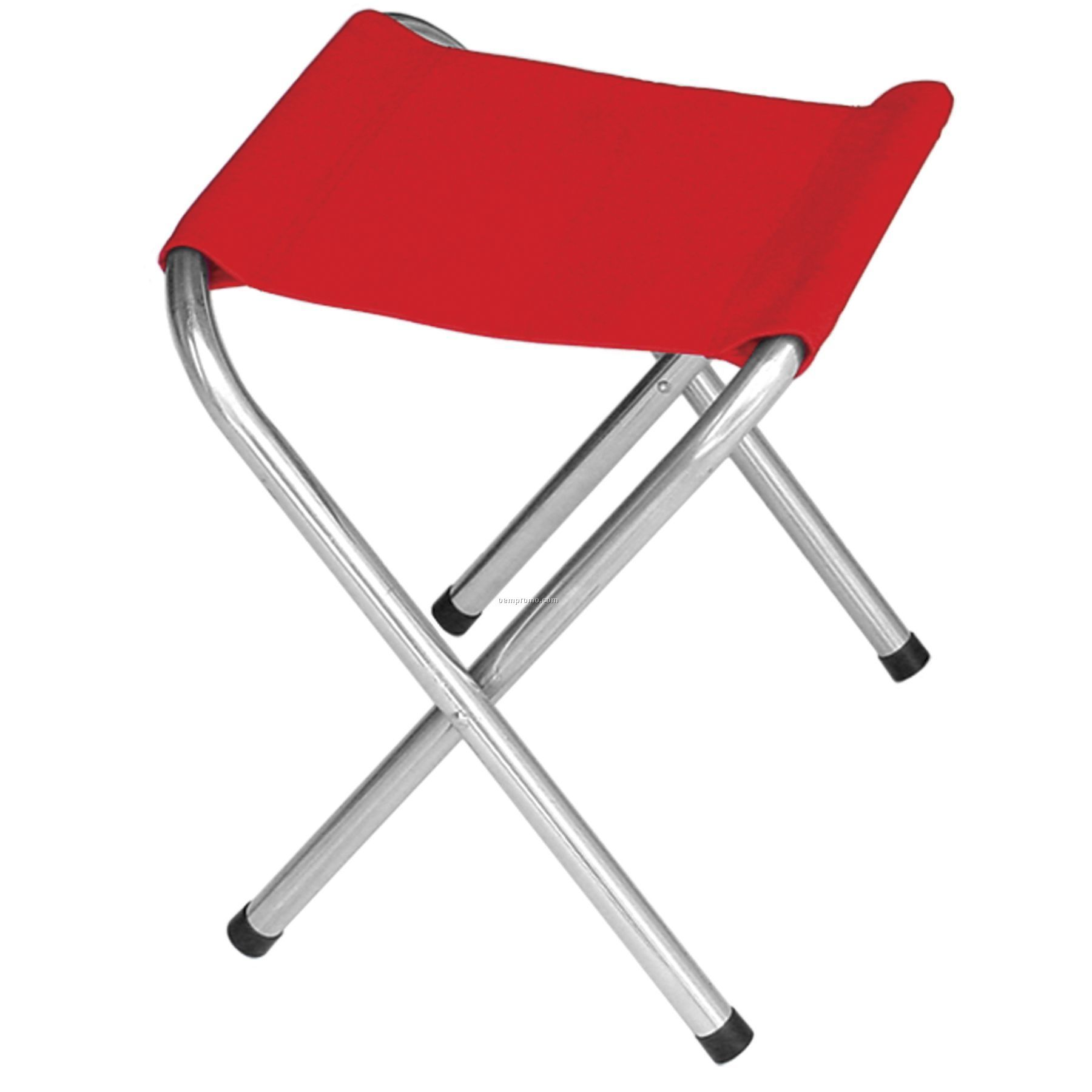 Us Made Folding Golf/Recreation Stool With Full Color Digital Imprint