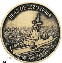 """1-1/2"""" Die Struck Coin/ Medallion"""