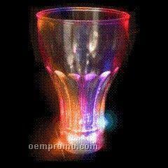 24 Oz. Cola Light Up Glass W/ Multi LED
