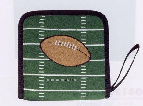 24 Piece CD/ DVD Holder (Football)