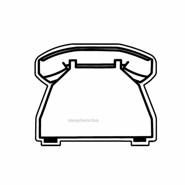Stock Shape Phone Recycled Magnet