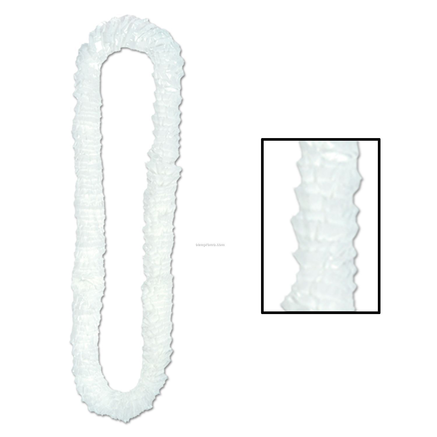 Soft Twist Solid Poly Leis