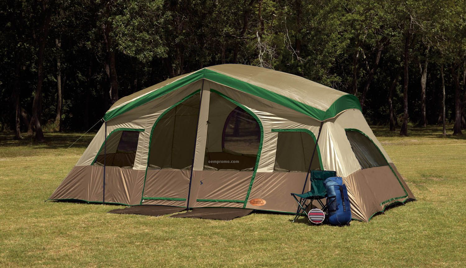 Texsport Sequoia Pass Three Room Family Cabin Tent China