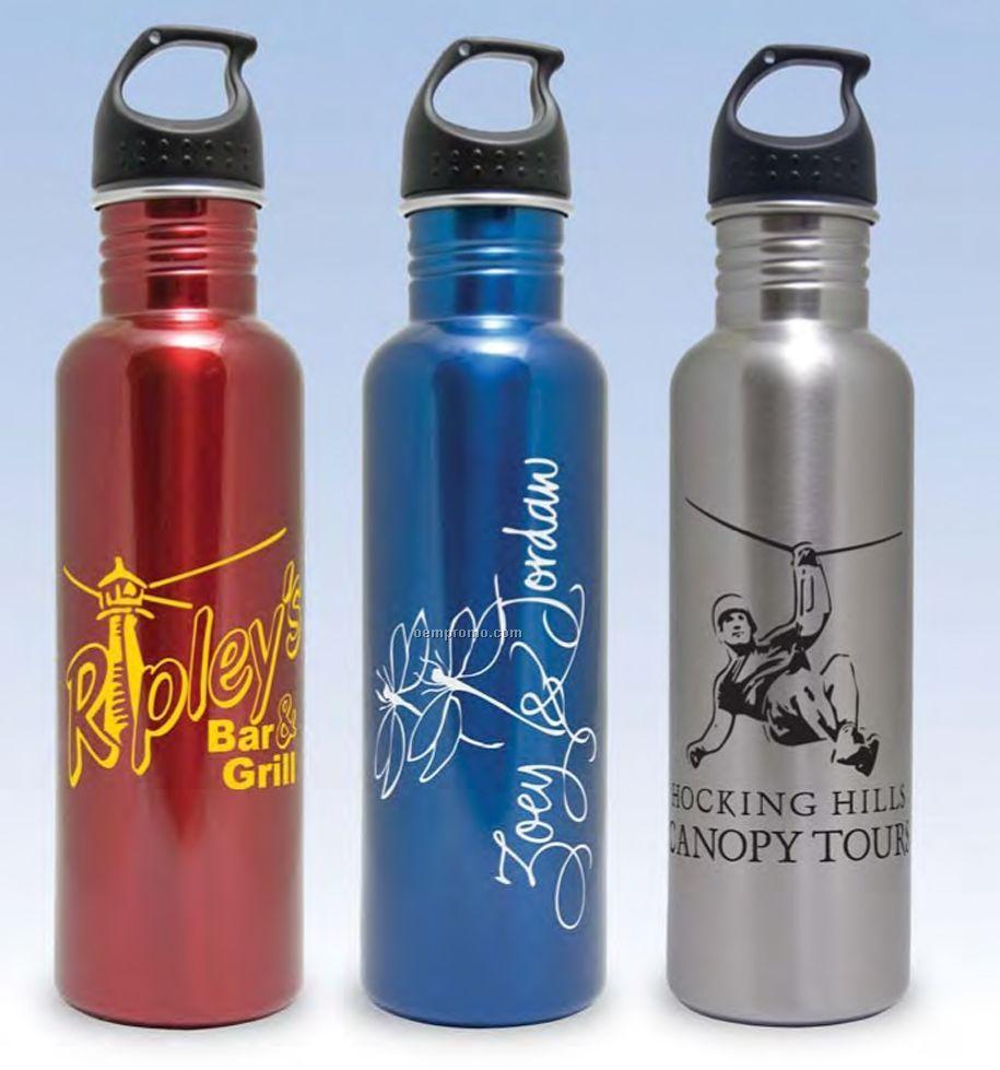 25 Oz. Stainless Steel Water Bottle