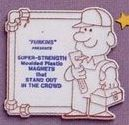 """Adgrabbers 2d Plumber Token W/ Rectangle Ad Space (3""""X2 3/4"""")"""
