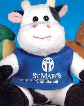 Q-tee Collection Stuffed Cow