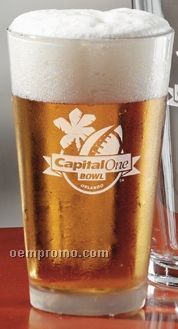 16 Oz. Selection Ale Beer Glass (Light Etch)