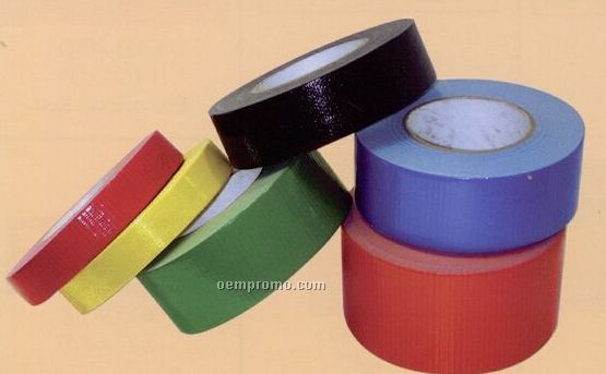 Medium Duty Poly-coated Colored Duct Tape
