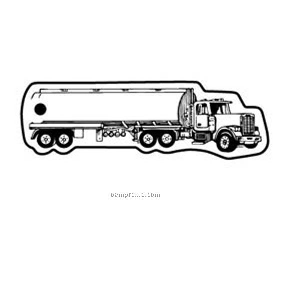 Stock Shape Collection Tanker Truck 1 Key Tag