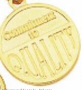 """1-1/4"""" Success Line Motivational Coin - Commitment To Quality"""