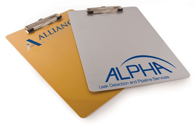 "Aluminum Clip Board (9""X12.5"")"