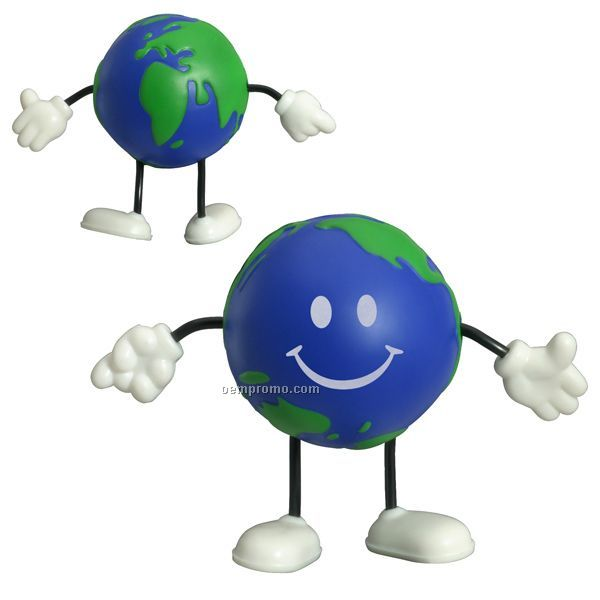 Earthball Figure Squeeze Toy