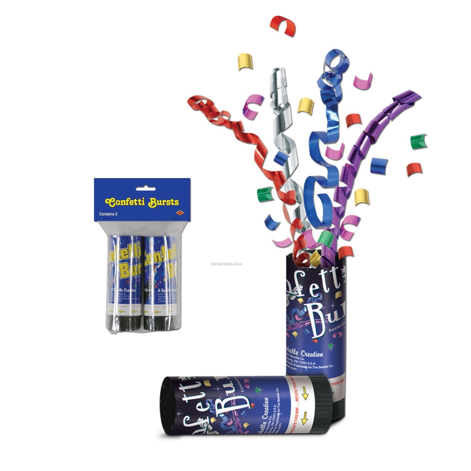 Packaged Confetti Bursts