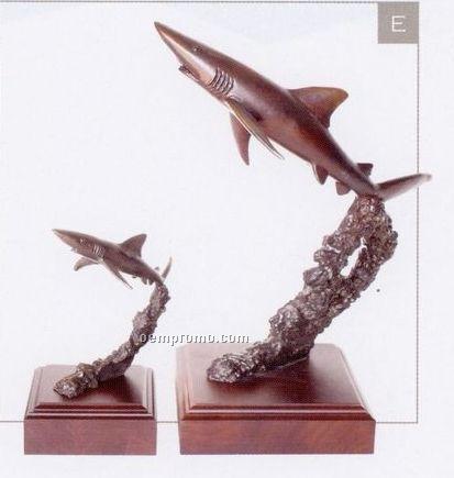 Fast Moves Shark Sculpture