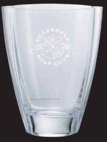 Heavy Lead Crystal Vase Award W Narrow Bottom 11 Quot China