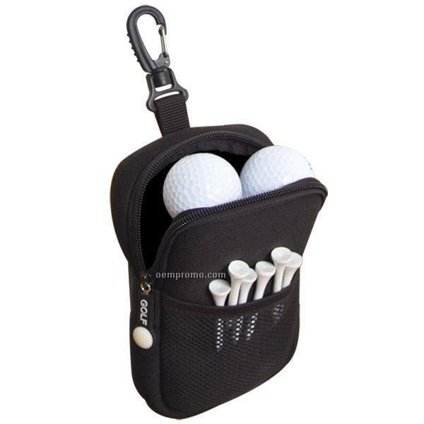 Neoprene Golf Accessories Pouch (Blank)